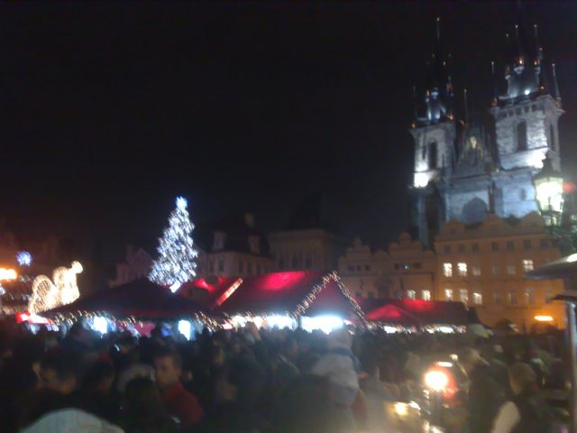 Getting festive in Prague